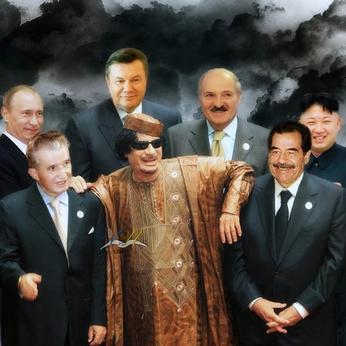 """Янукович """"пофоткался"""" с главами стран СНГ и заседает в экономическом совете Евразийского союза - Цензор.НЕТ 2016"""