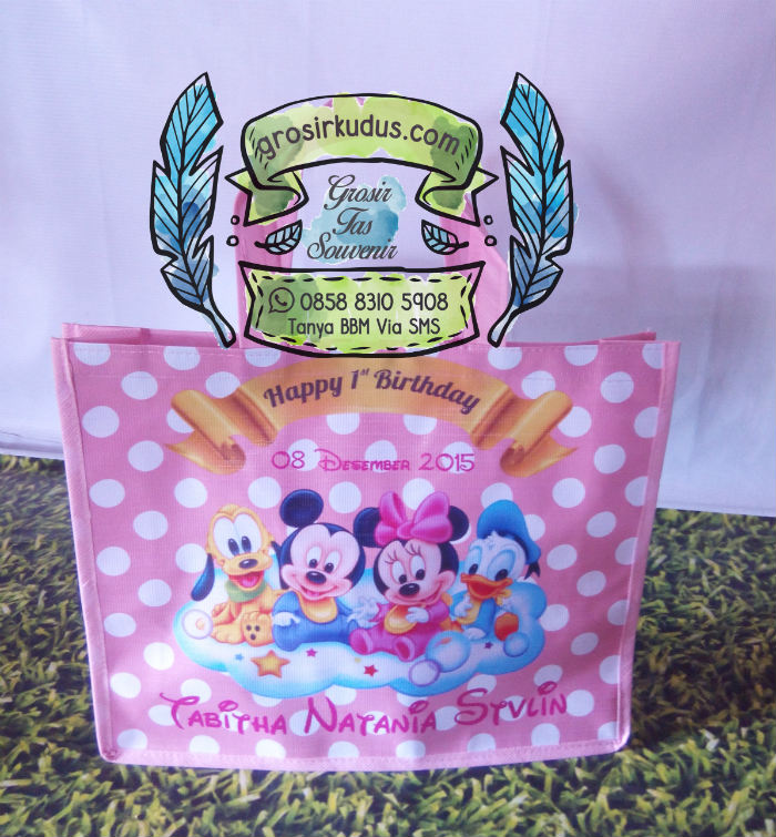 Tas ulang Tahun Baby Mickey
