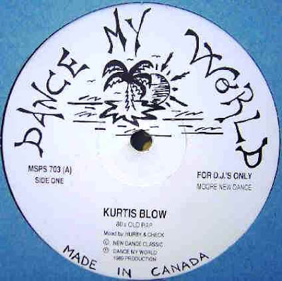 Kurtis Blow - If I Ruled the World Vinyl