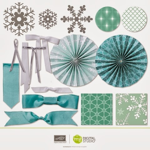 Stampin' Up! Christmas Banner Simply Created Digital Kit