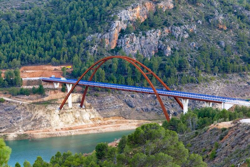 Puente de la Vicaría en Yeste (Albacete)