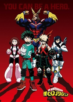 Anime Desenho Boku no Hero Academia - 3ª Temporada Legendada Completa 2018 Torrent