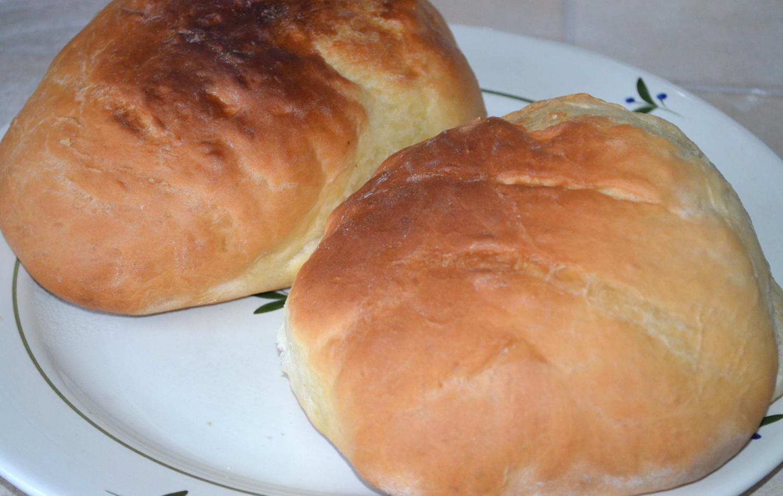 Хлеб домашний: Румяные красавцы