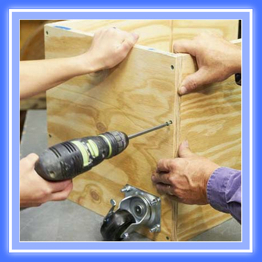 Banco de trabajo de madera web del bricolaje dise o diy for Manual para hacer muebles