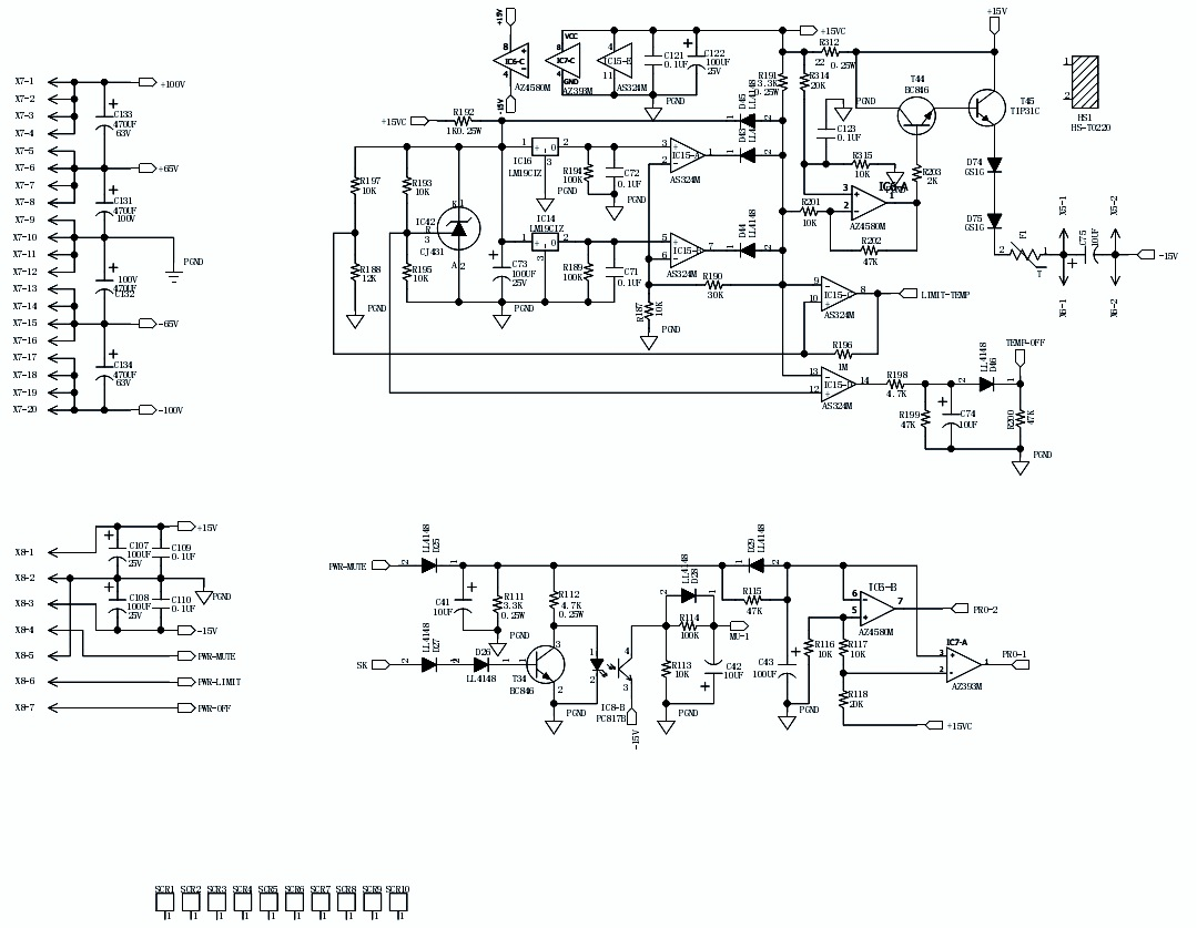BEHRINGER EPX 3000 - AMPLIFIER CIRCUIT DIAGRAM | Schematic Diagrams