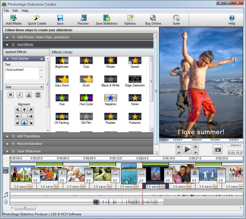 NCH PhotoStage Slideshow Producer 3.37 Professional