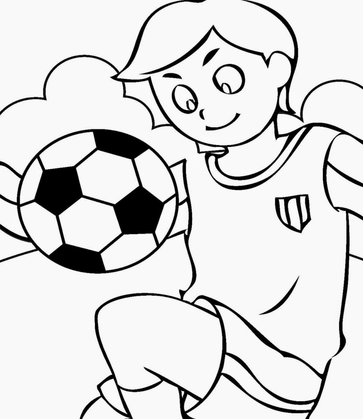 Soccer Coloring Sheets