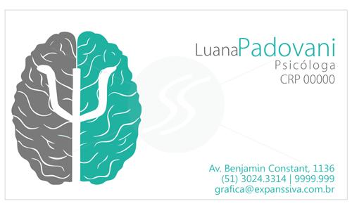Cartões de Visita criativos para Psicólogos