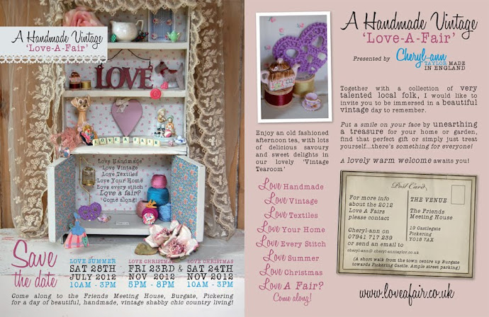 A Handmade, Vintage Love A Fair