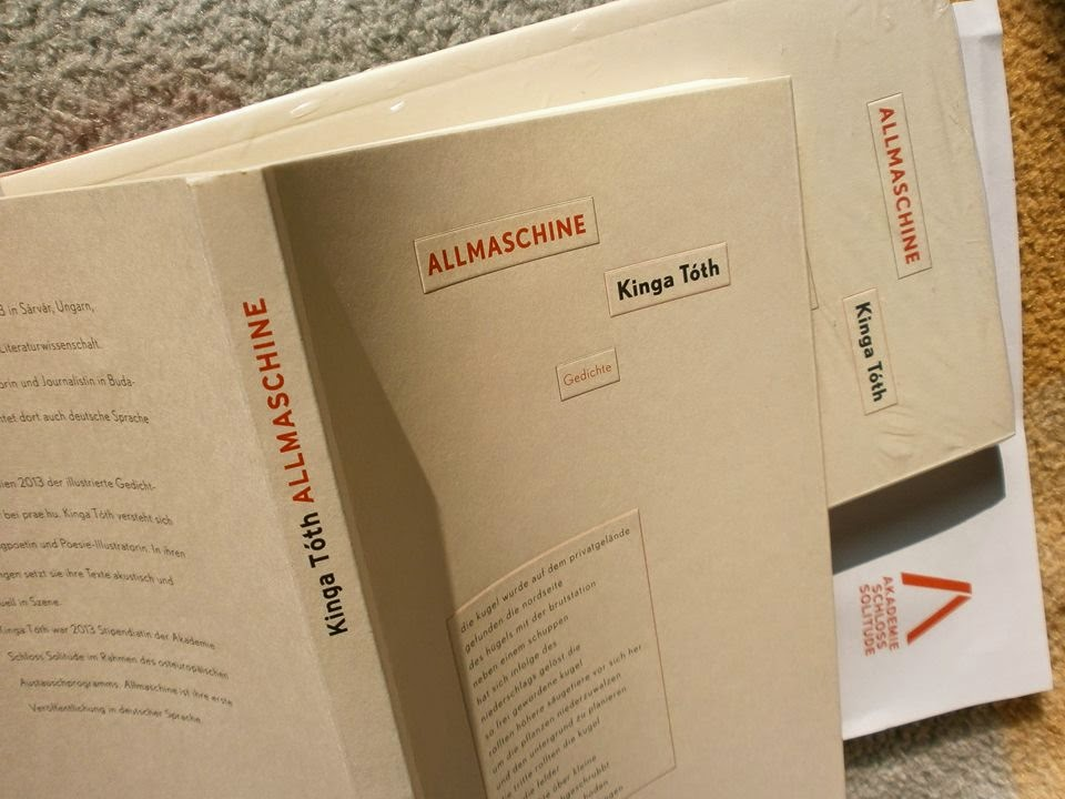 Kinga Tóth : ALLMASCHINE (Akademie Schloss Solitude, 2014)