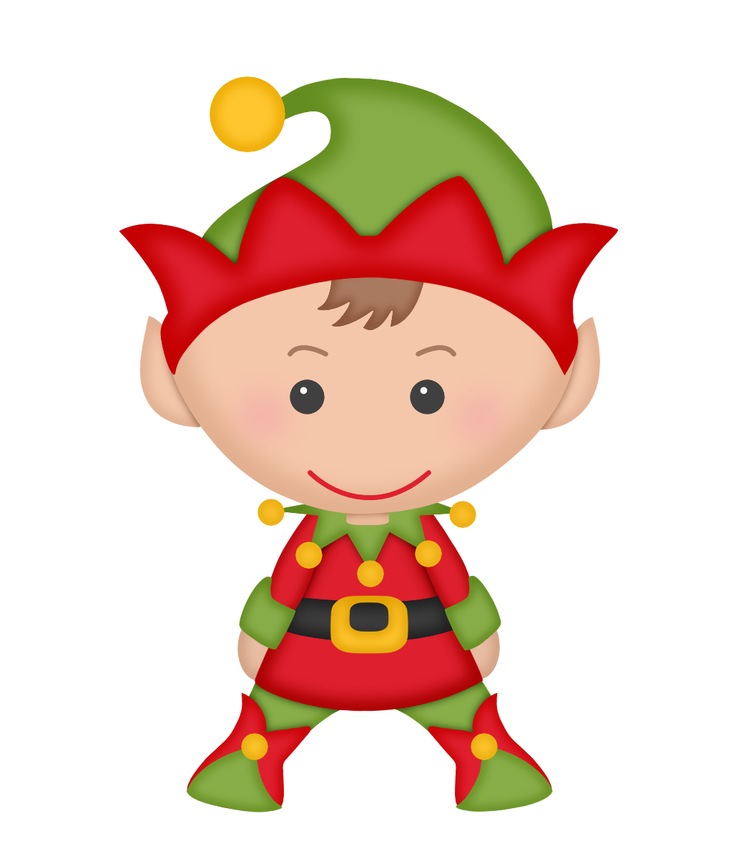 christmas elf art
