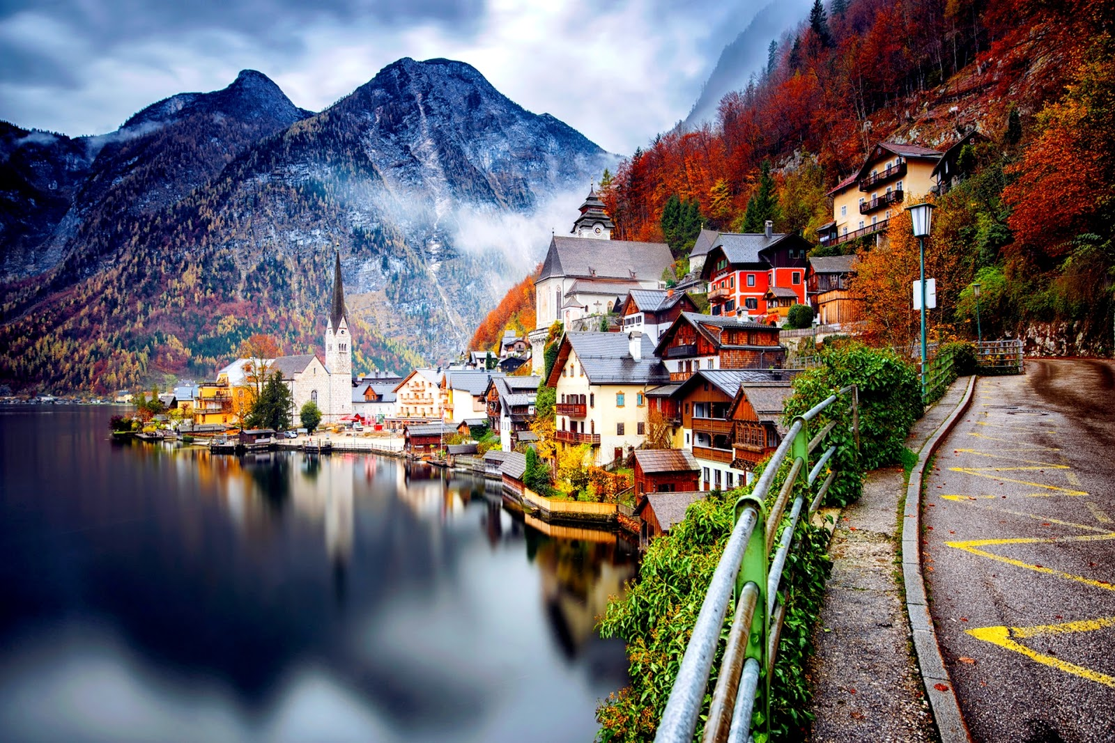 Let's travel the world!: Hallstatt: An unbelievably ... 10 Most Beautiful Places In The World Wallpaper