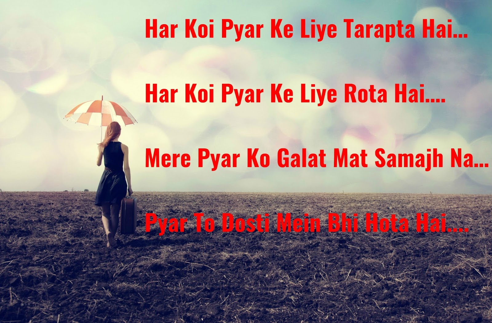 Sad pictures crying with hindi quotes