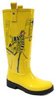 Rain Boots Yellow5
