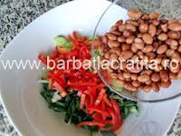 Salata de fasole boabe preparare reteta