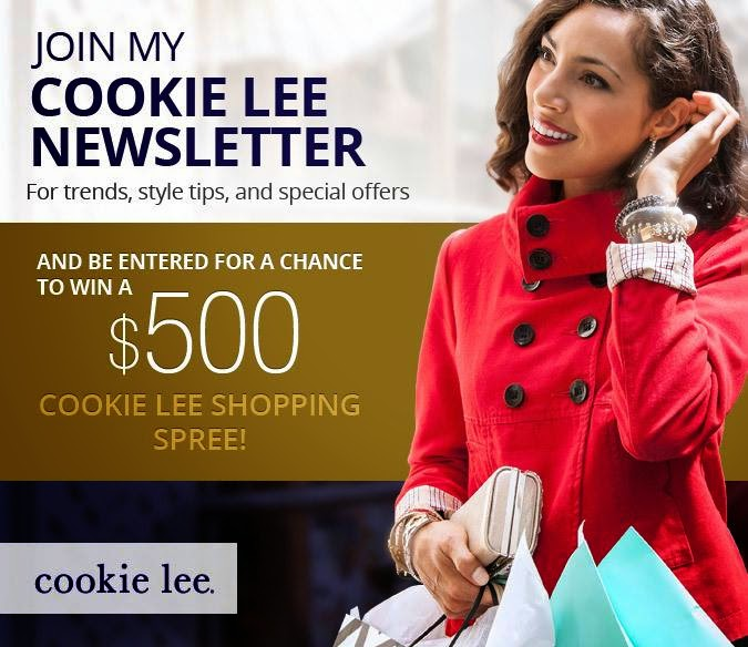 Cookie Lee Newsletter Sweepstakes