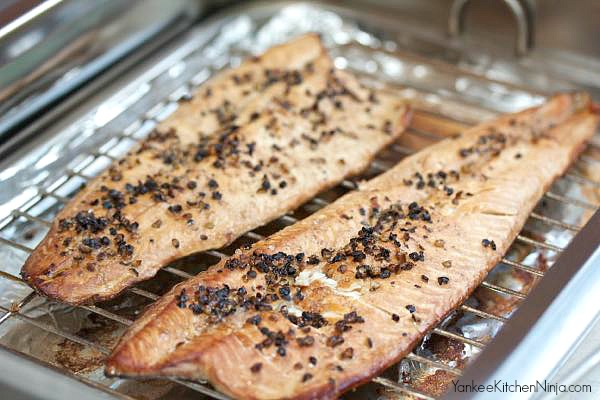 DIY smoked trout
