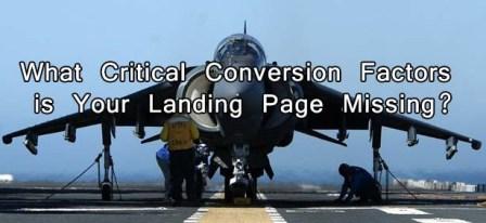 What Critical Conversion Factors is Your Landing Page Missing? : eAskme