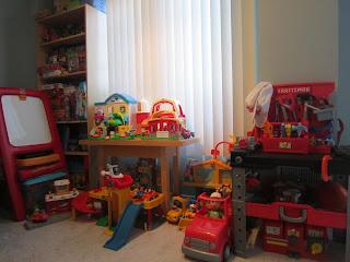 toys, kids room