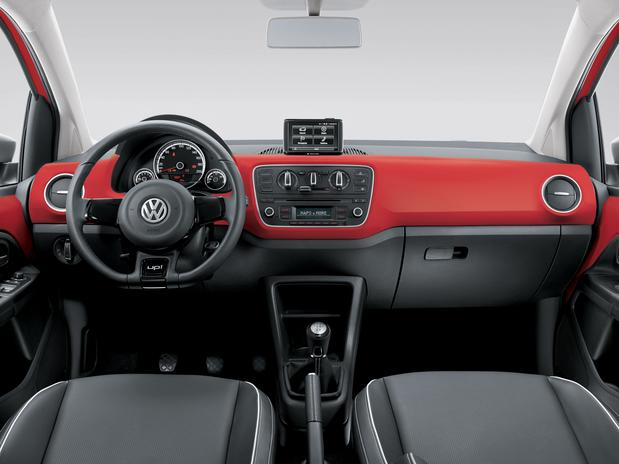 Volkswagen Red-up - interior
