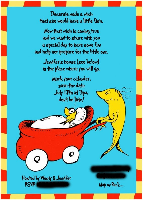 Free Dr Seuss Baby Shower Invitations with awesome invitations template