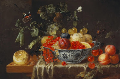 Jan Davidsz. Heem  - Still-life with Fruit and Butterflies