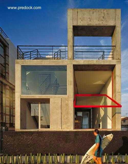 Casa minimalista en Venice, California, Estados Unidos