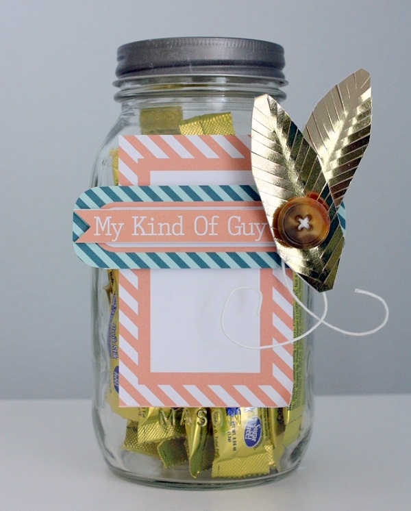 Shellye McDaniel Chickaniddy Foil Mason Jar close-up 2