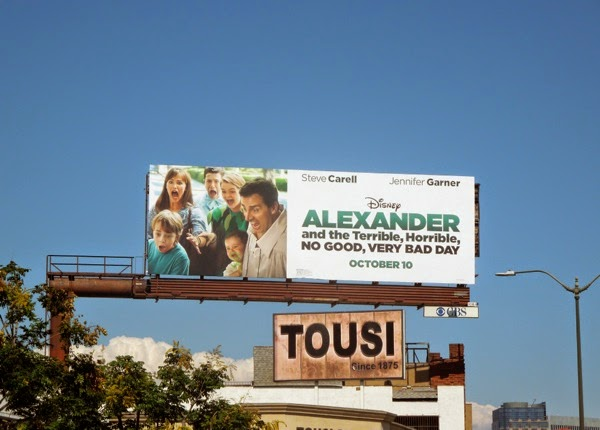Alexander and the Terrible, Horrible, No Good, Very Bad Day billboard