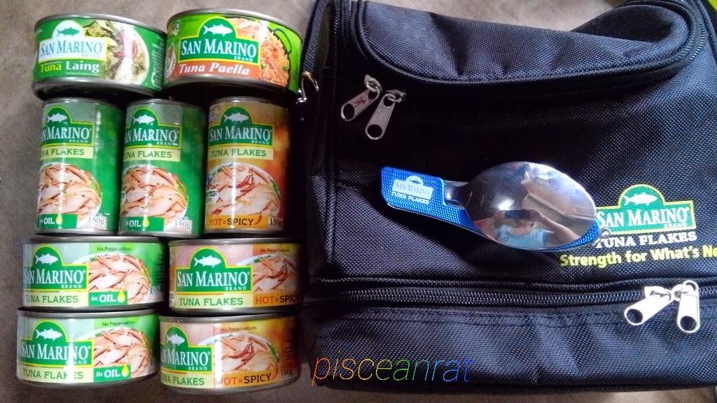 san marino, tuna flakes, tuna paella, tuna laing,