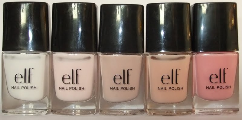 GretalRabbit Writes: Review: e.l.f. Nail Polish (many pictures!)