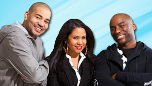 DJ Envy, Angela Yee, Charlamagne Tha God of The Breakfast Club