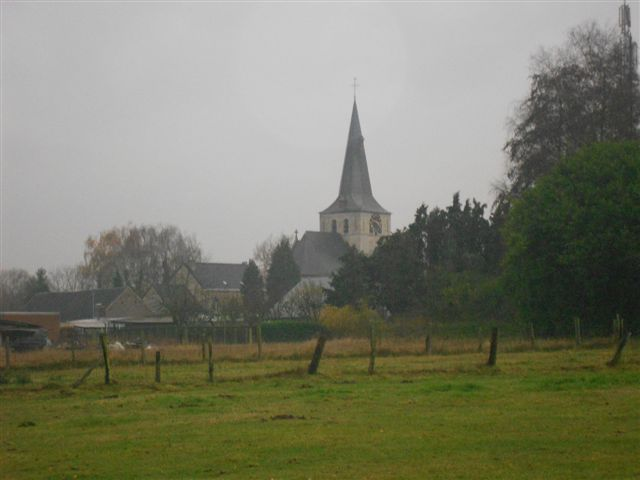 Sint-Walburgakerk in Meldert