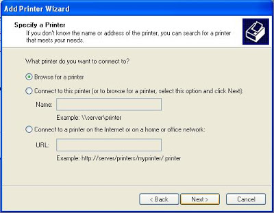 wifi printer sharing