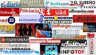 Ranking Portales de Noticias de Tierra Del Fuego
