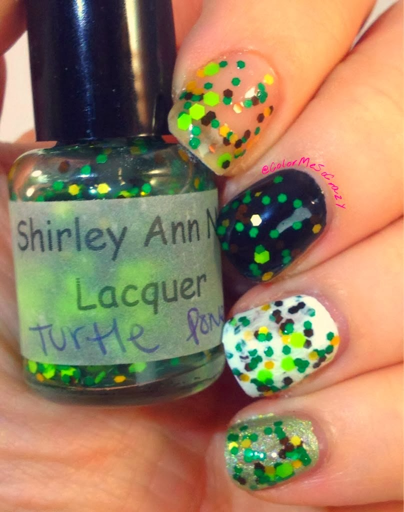 Shirley Ann Nail Lacquer Teenage Mutant Ninja Turtles Collection Turtle Power
