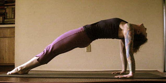 Resultado de imagen para yoga purvottanasana