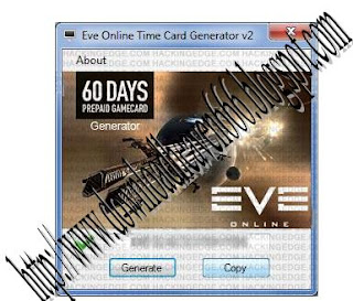 KEYGENS☣CRACKS: Eve Onnline 60 Days Time Card Generator v2