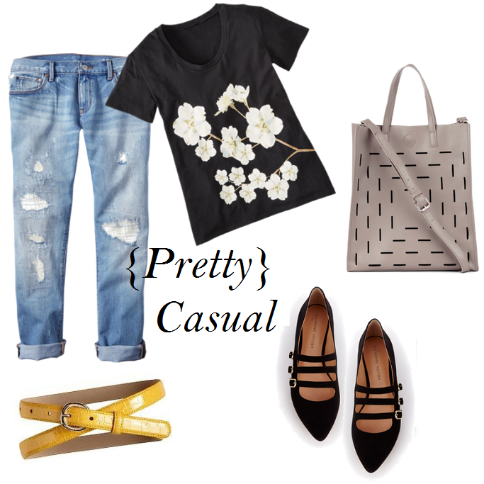 How to style a boyfriend jeans, Boyfriend jeans casual style