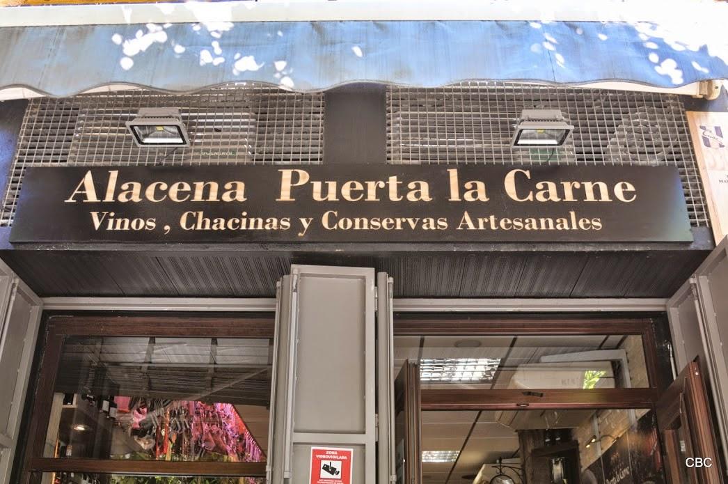 Fachada Alacena Puerta la Carne
