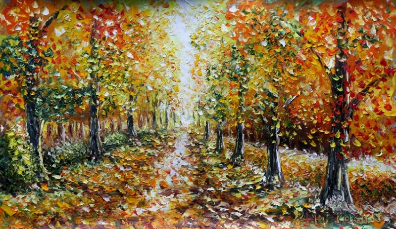 Живопись: Картины маслом. Осень.: colour01.blogspot.com/2014/11/blog-post_6.html