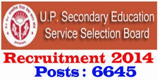 UP Secondary Schools 6645 LT Grade Teacher Posts Recruitment Notification 2014 - Apply for LT Grade Teacher Posts at www.upsessb.org