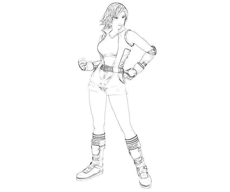 printable-tekken-asuka-kazama-character_coloring-pages