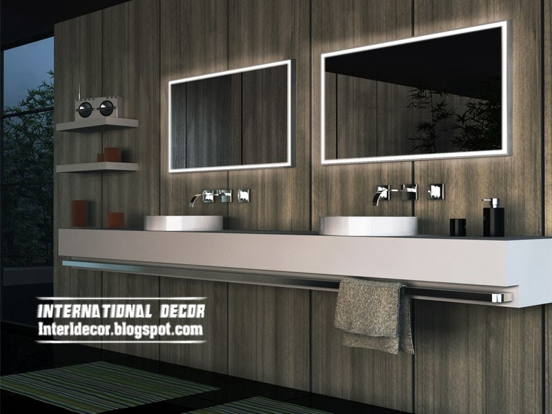 LED bathroom mirrors, choosing bathroom mirror