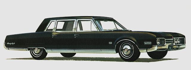 1967 Oldsmobile Cotington 7 passenger Limousine