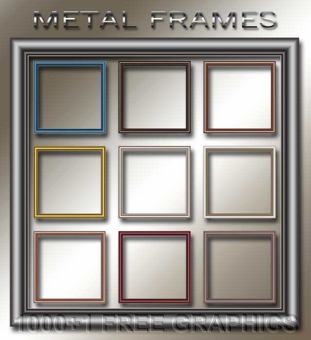 Metal poster frames 27 x 38 1/2