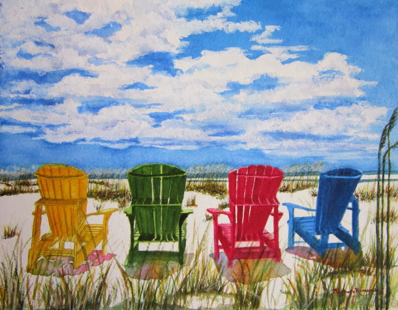 https://www.etsy.com/listing/176111955/beach-adirondack-chair-art-print?