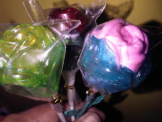 Permen Lolipop Bunga Mawar