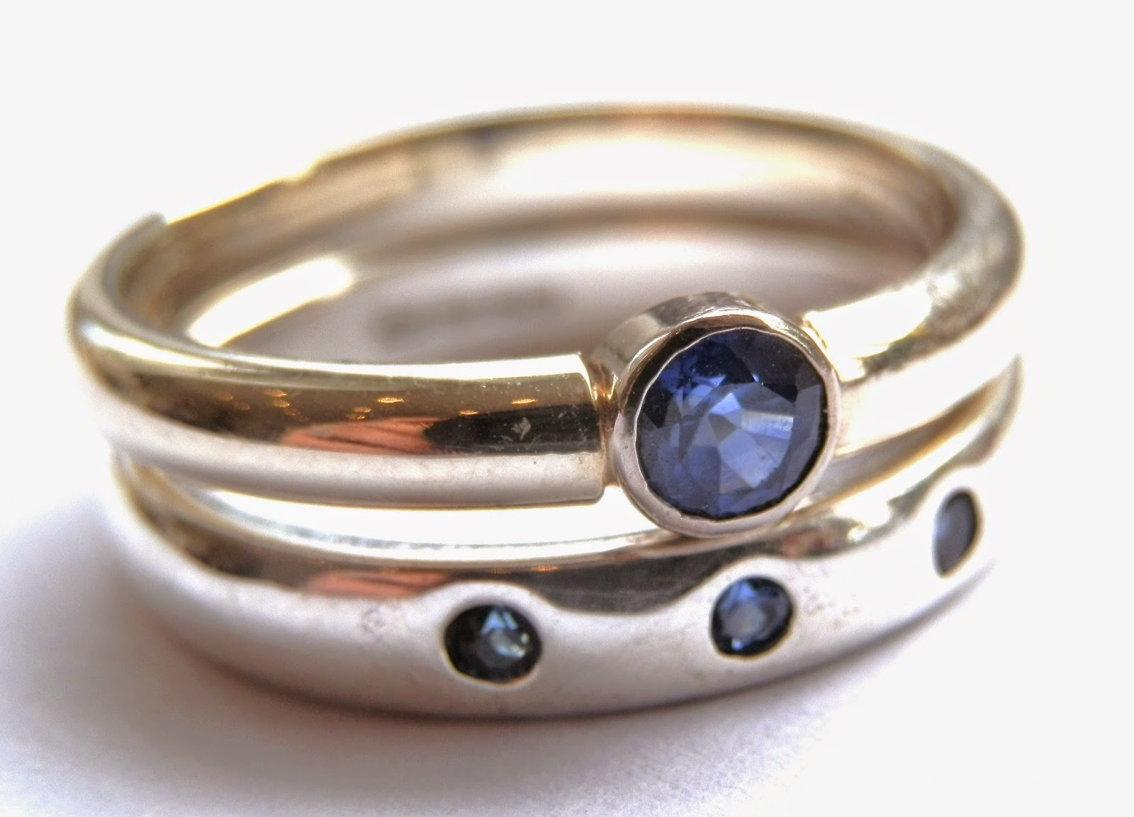 Kirsty Taylor Jewellery Sapphire Rings