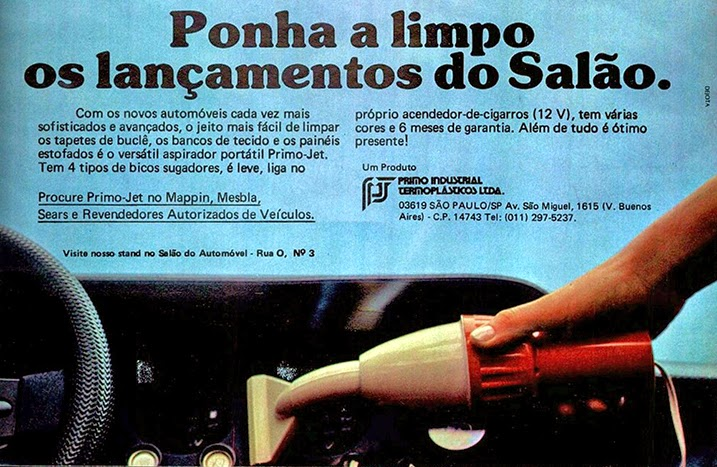 propaganda anos 70. propaganda carros anos 70. reclame anos 70. Oswaldo Hernandez..